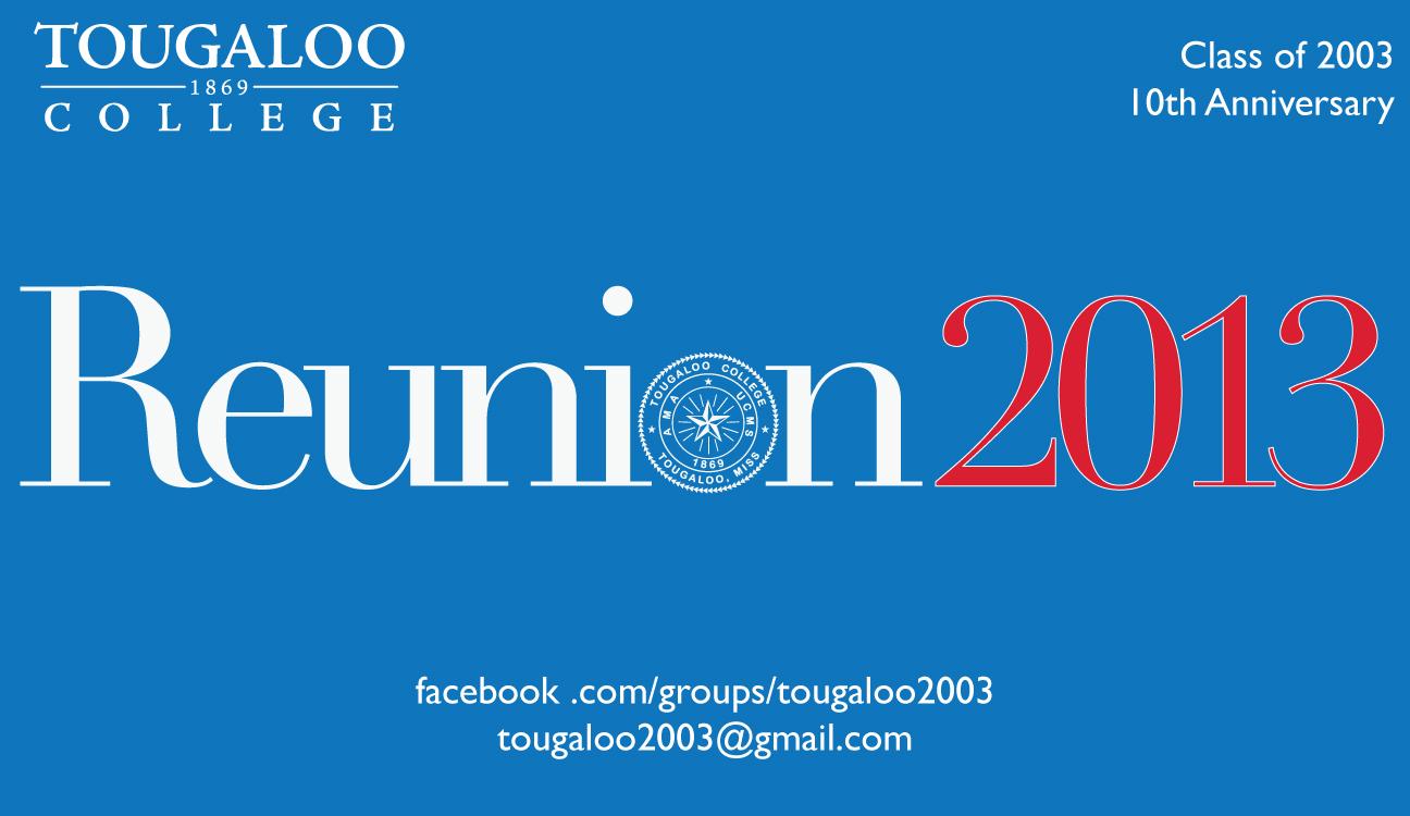 Tougaloo Alumni Reunion + Commencement Weekend header
