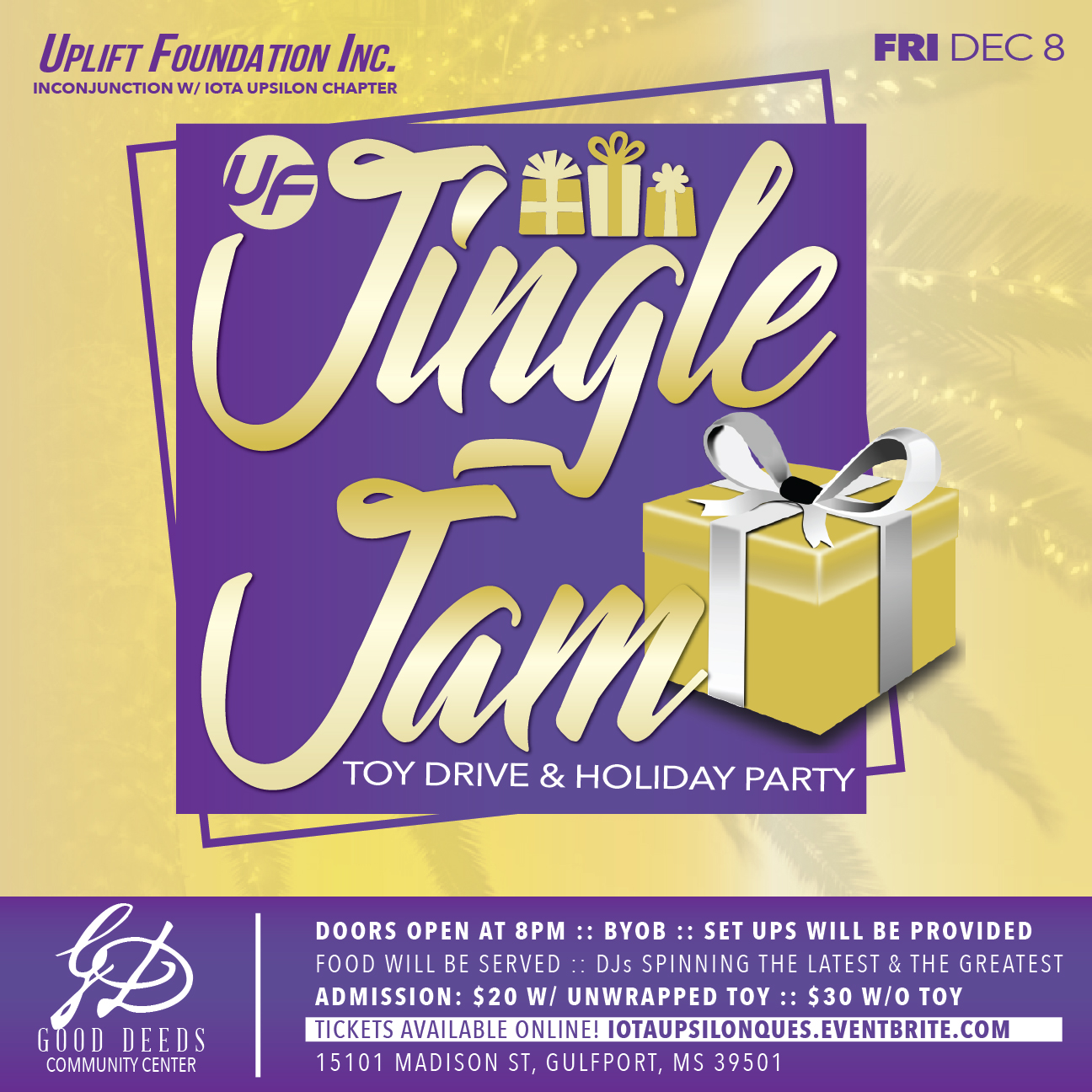 Uplift Foundation Jingle Jam