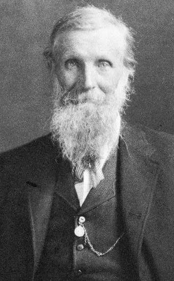 John Muir formal portrait