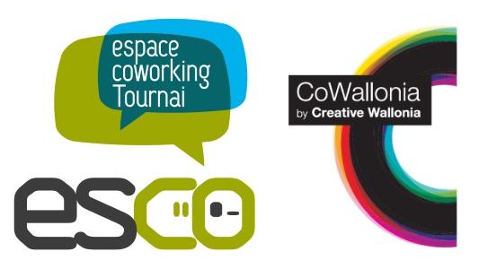 Logo Esco Espace Coworking du réseau Cowallonia