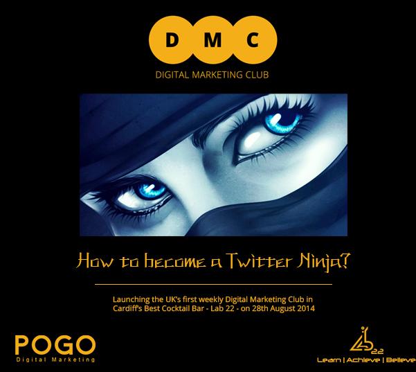 digital marketing club cardiff twitter ninja