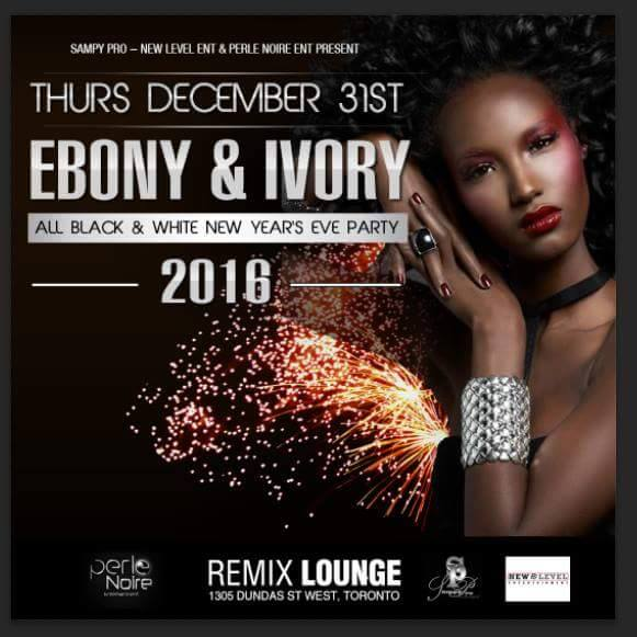 Thursday Dec 31st @remix lounge toronto