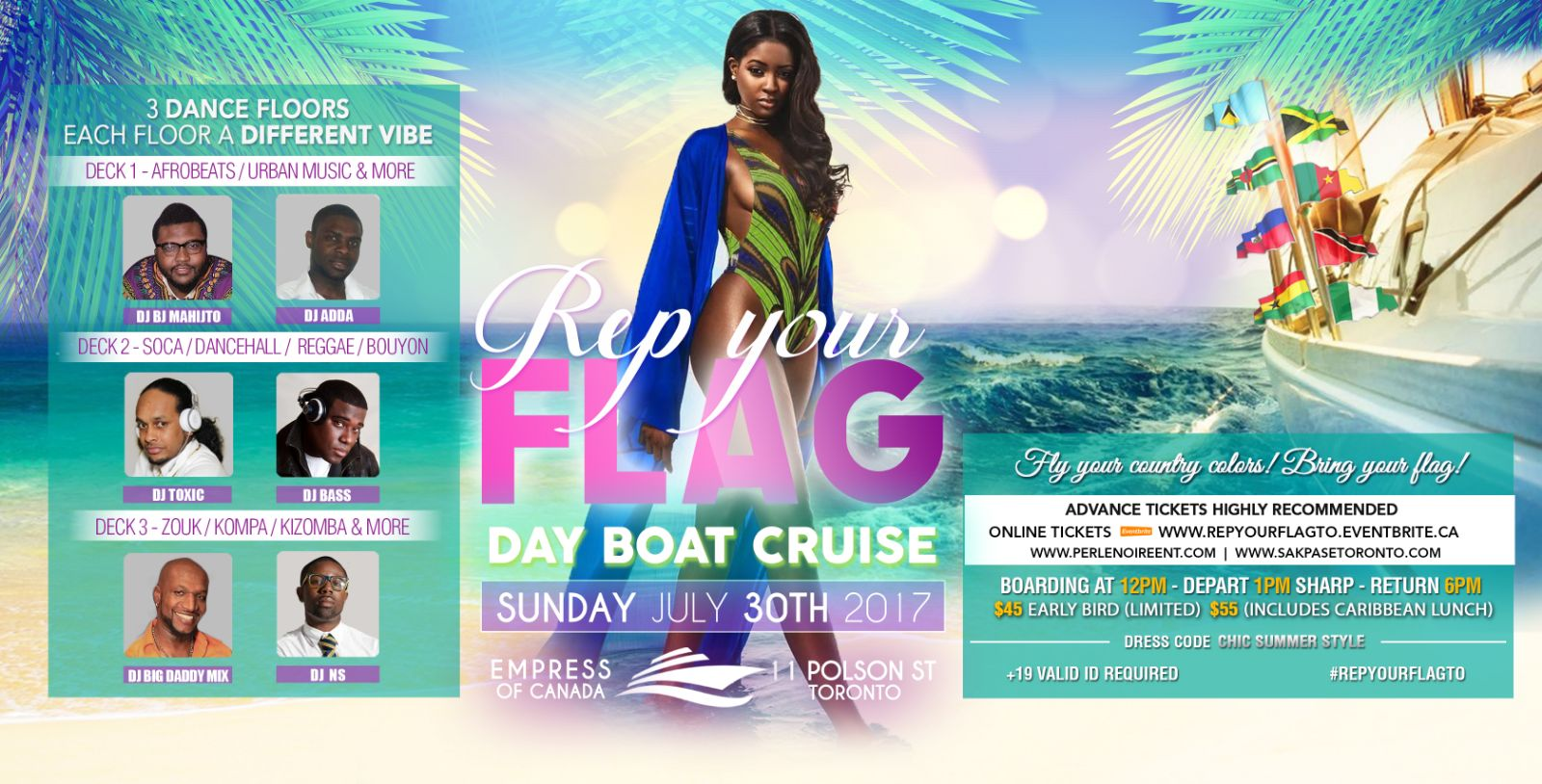 Boat cruise party in Toronto