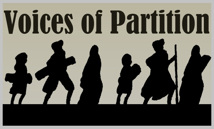 [Voices of Partition poster]