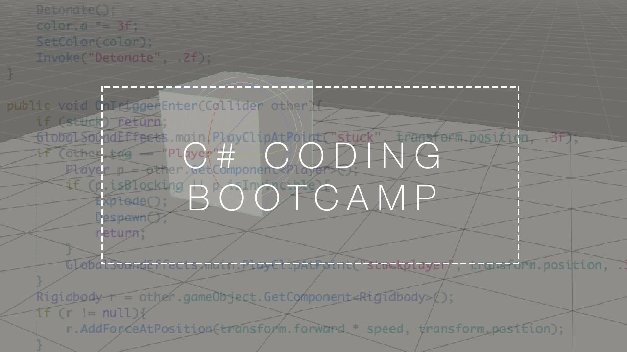 C# Bootcamp Header