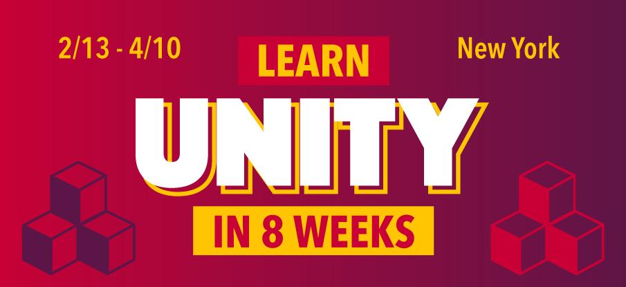 Learn Unity in 8 Weeks