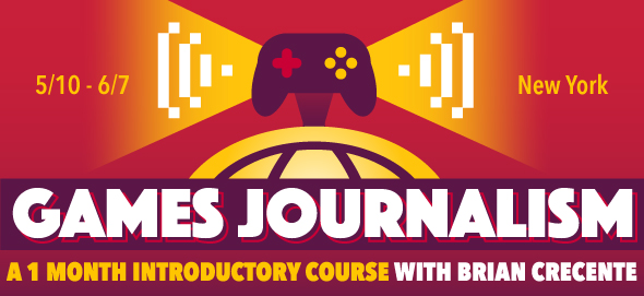 Intro to Games Journalism