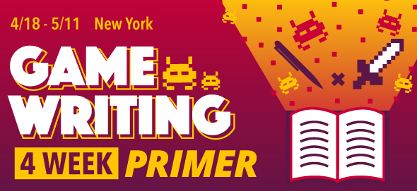 4 Week Game Writing Primer