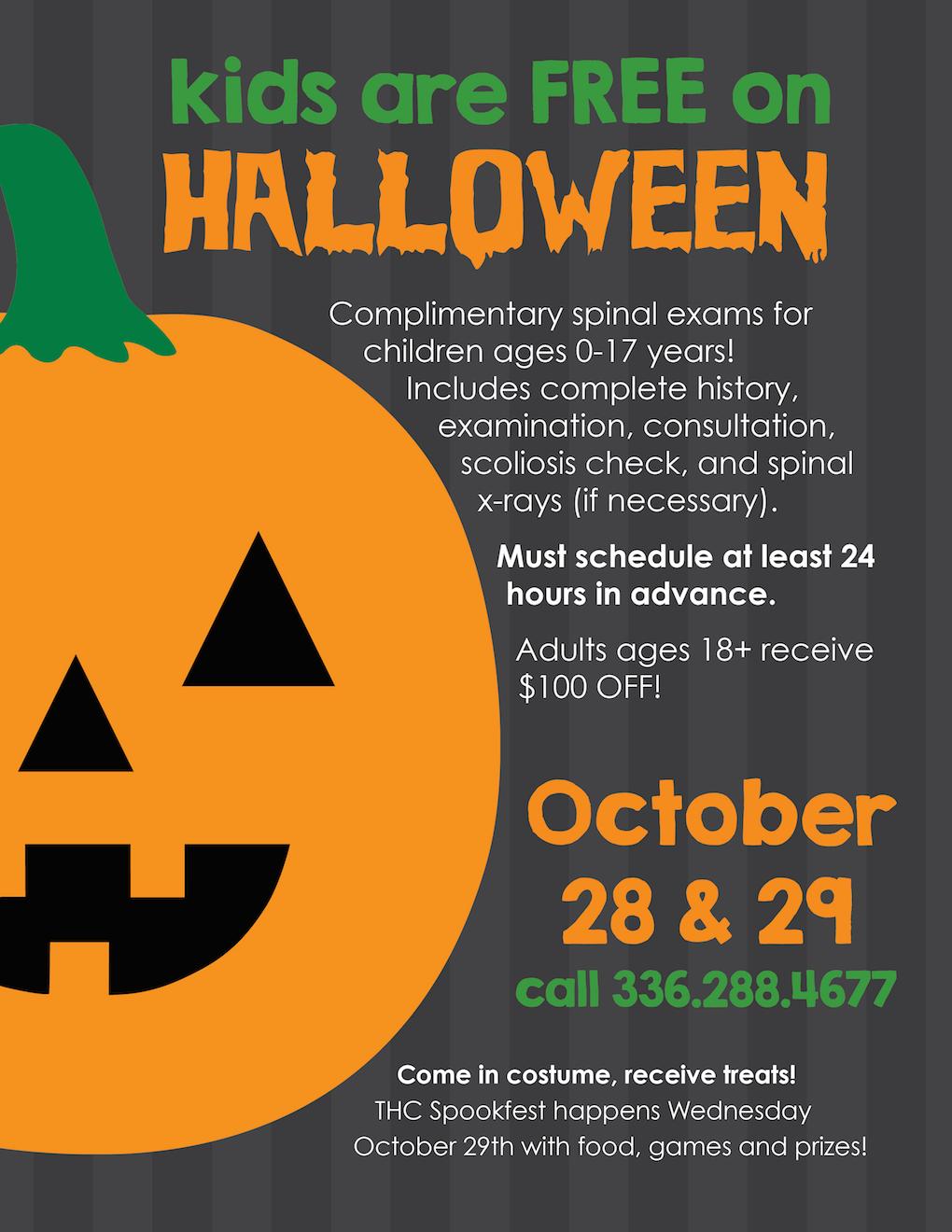 Halloween Spookfest Poster