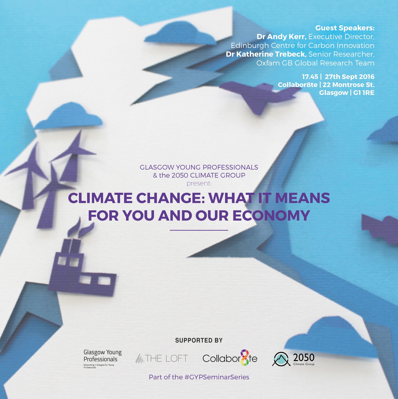 Climate Change event invite