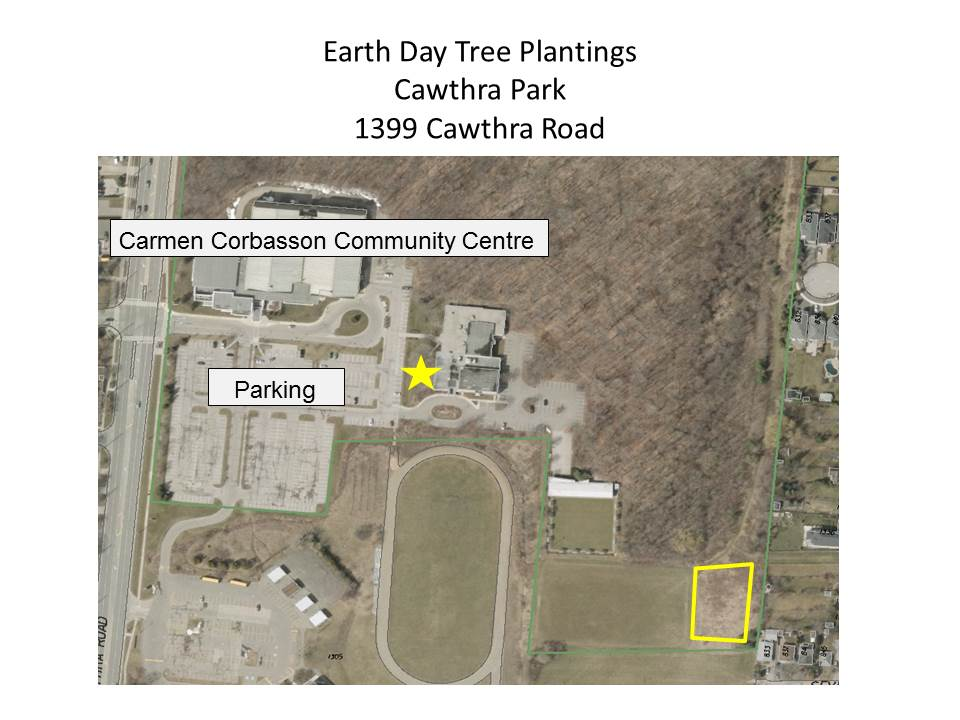 Cawthra Park Map