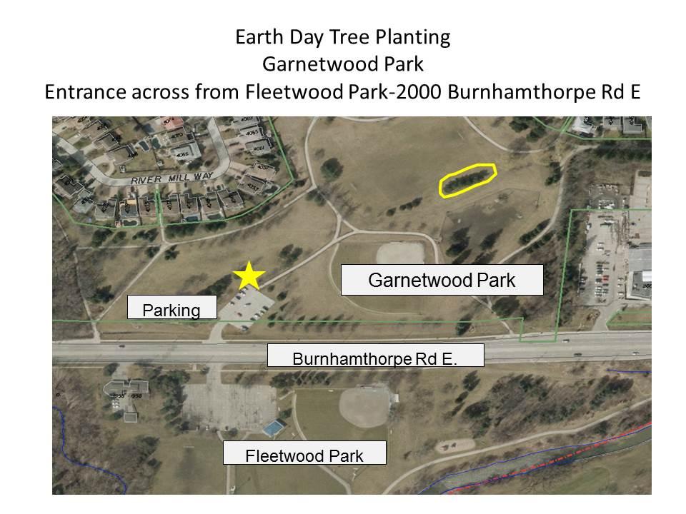 Garnetwood Park Map