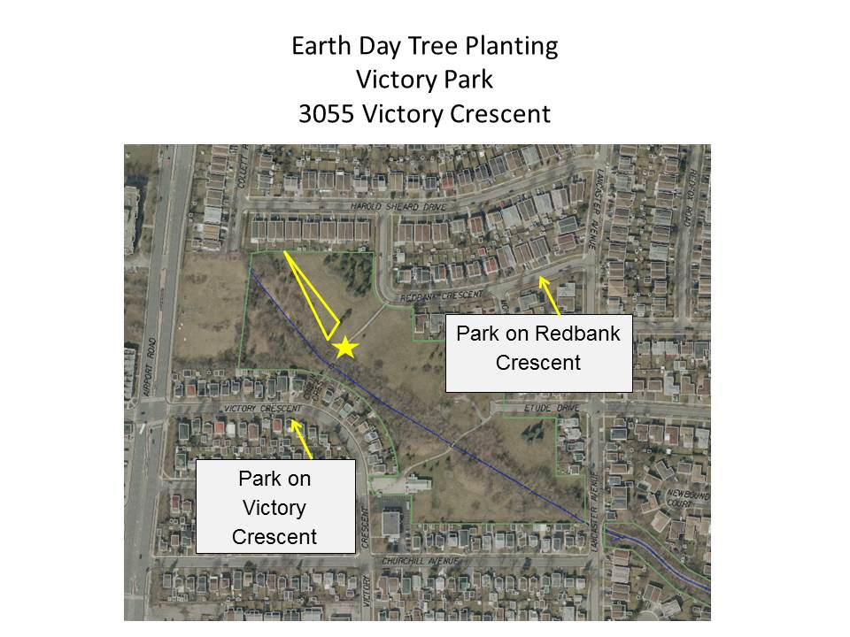 Victory Park Map