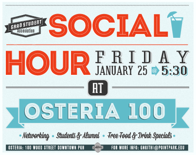 social hour flyer