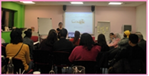 A talk at the Women's Business Centre