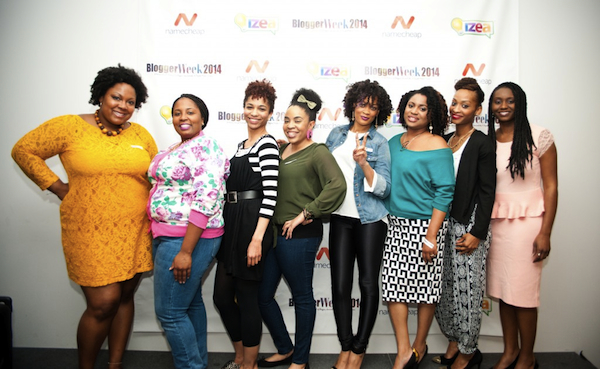Group of African American women at Blogger Week
