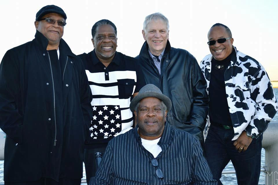 Breakwater Philadelphia funk, R&B and jazz band promotional picture