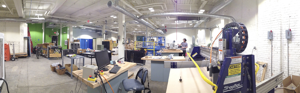 New NextFab Floor 2