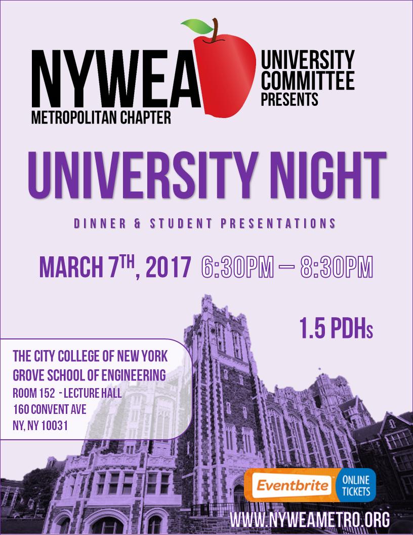 2017-03-07 University Night flyer
