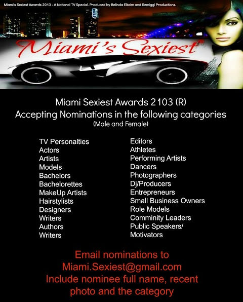 miami sexiest awards 2013 NONINEES