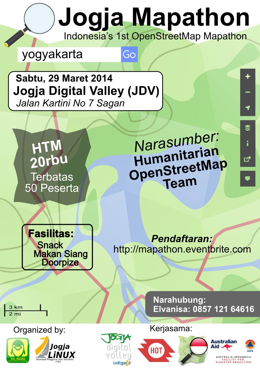 Poster Jogja Mapathon