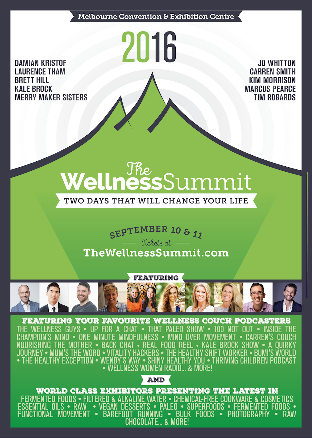 The Wellness Summit 2016 Poster