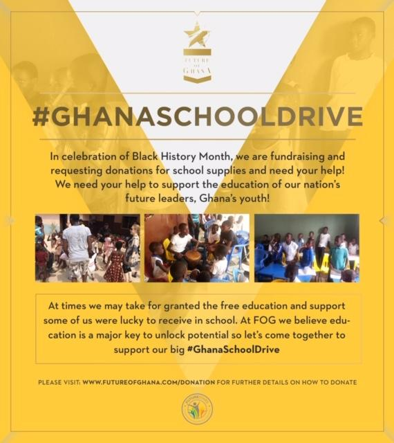 #GHANASCHOOLDRIVE