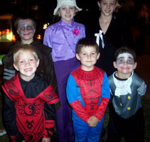 Kids at Haunted Abilene