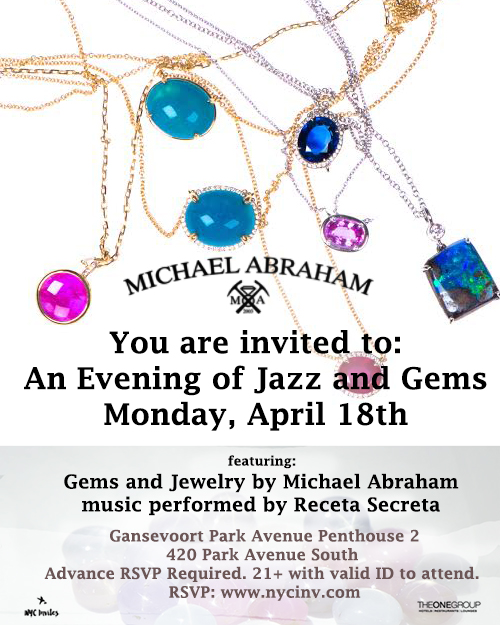 Jazz and Gemstones NYC