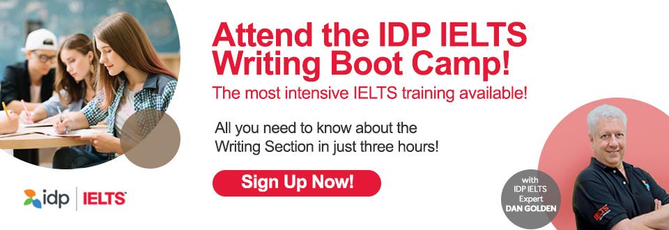IDP IELTS Writing Boot Camp