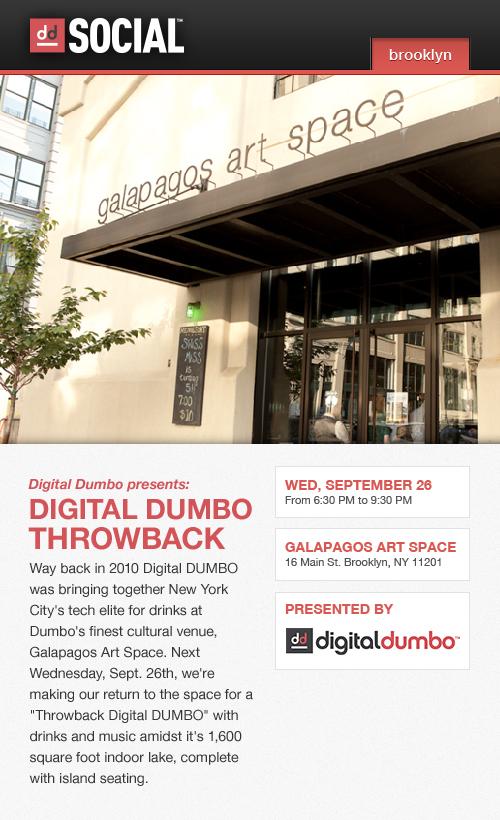 Digital DUMBO Throwback