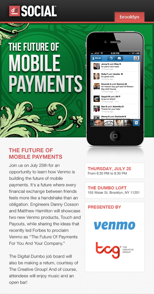 Digital DUMBO Mobile Payments