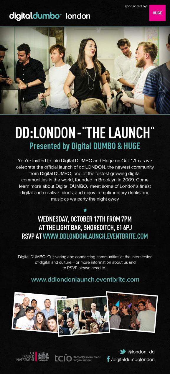 DD London Launch