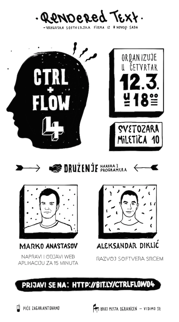 CTRL+FLOW 4 plakat