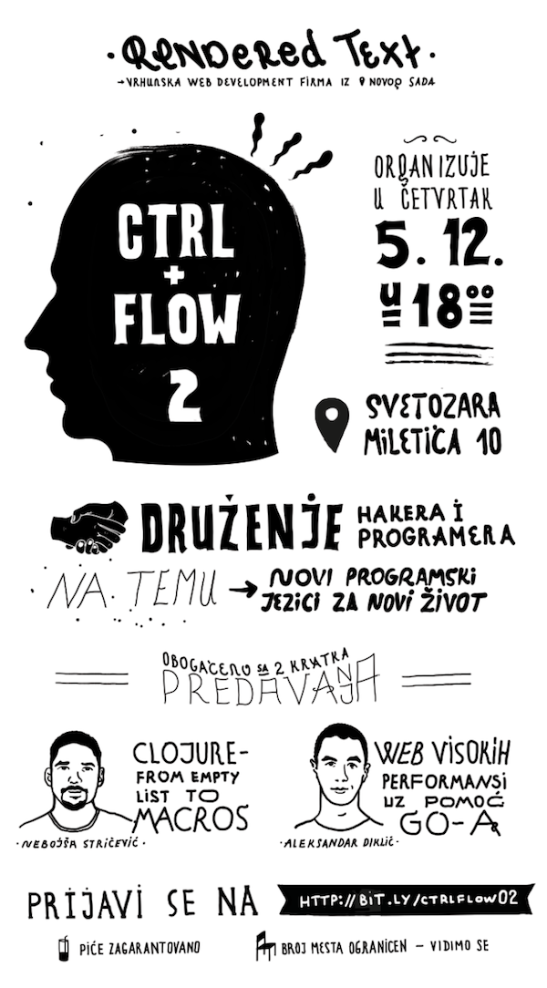 CTRL+FLOW 2 plakat