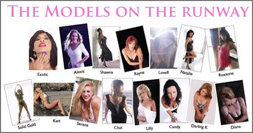 The runway models for Mature Magic