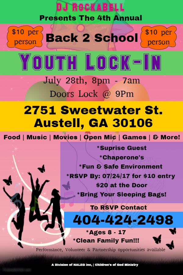 Lock-In Flyer