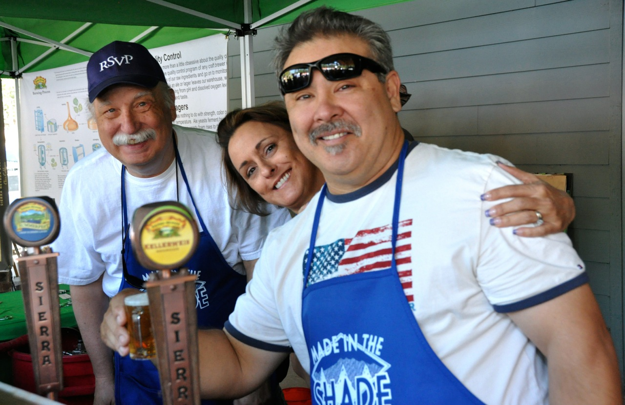 Volunteers at Made in the Shade