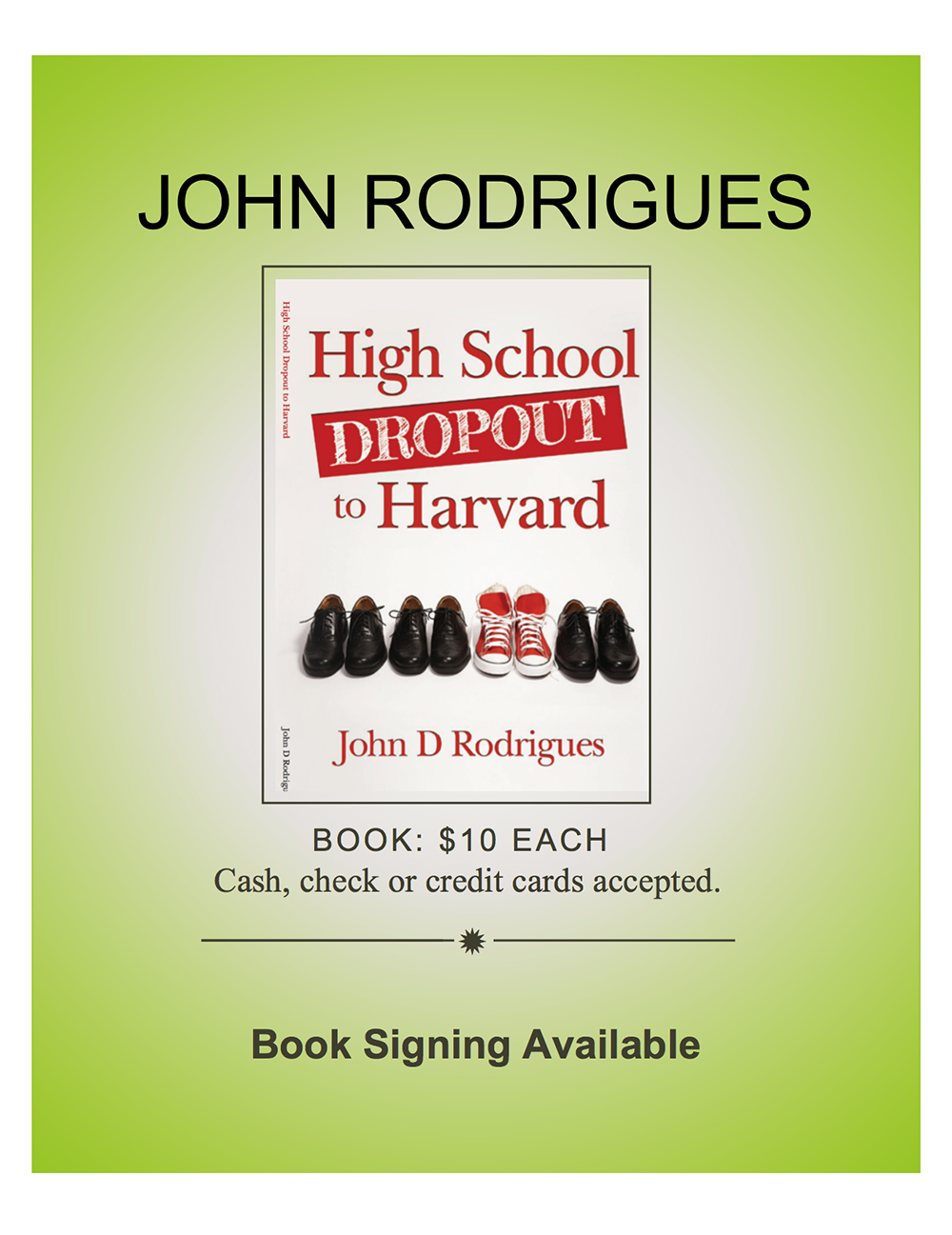 John's book for sale
