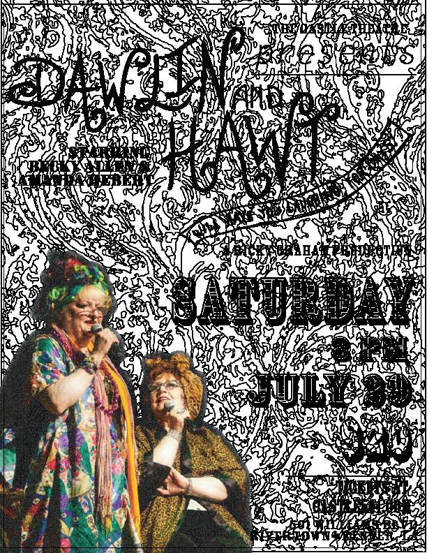 Dawlin & Hawt Flyer
