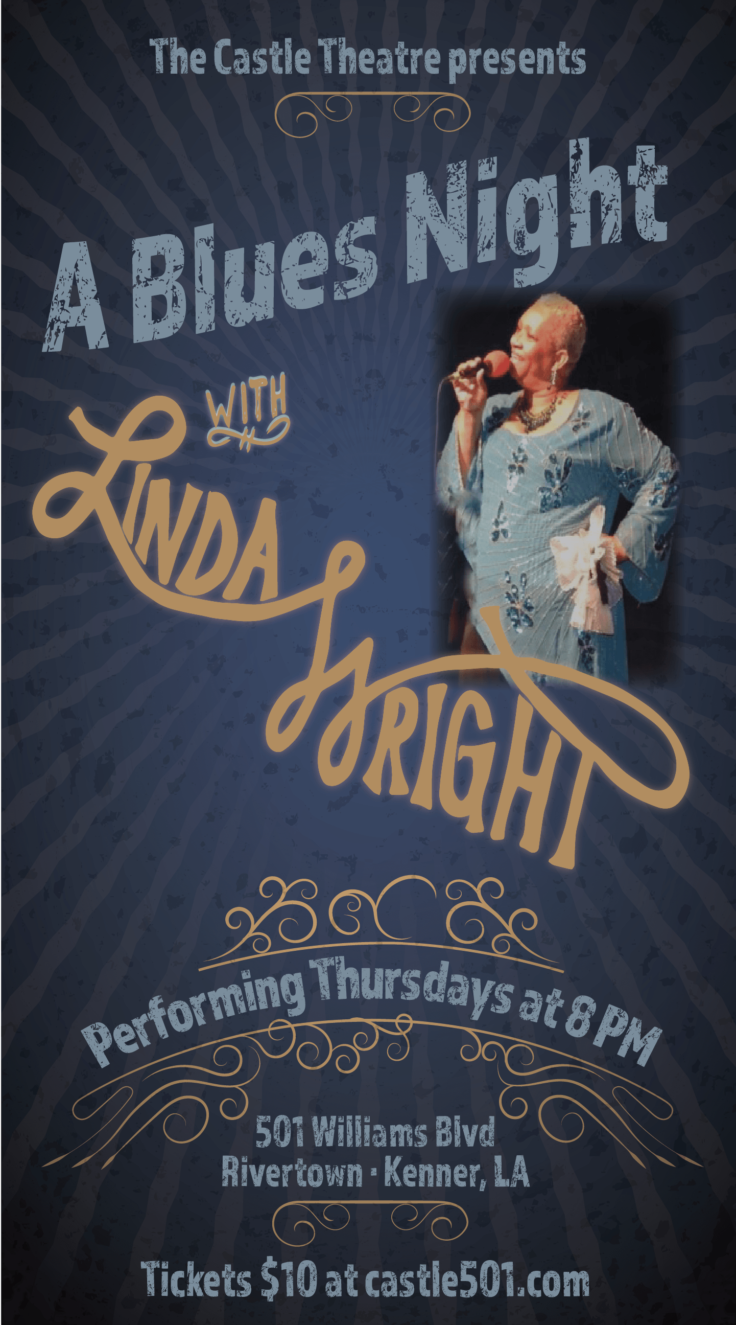 a blues night with linda wright tickets, multiple dates | eventbrite