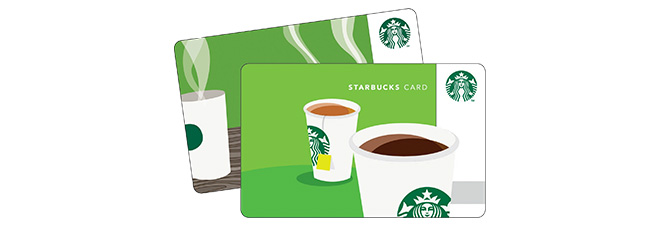 starbucks card registrieren