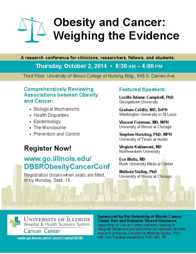 Obesity Conference flyer