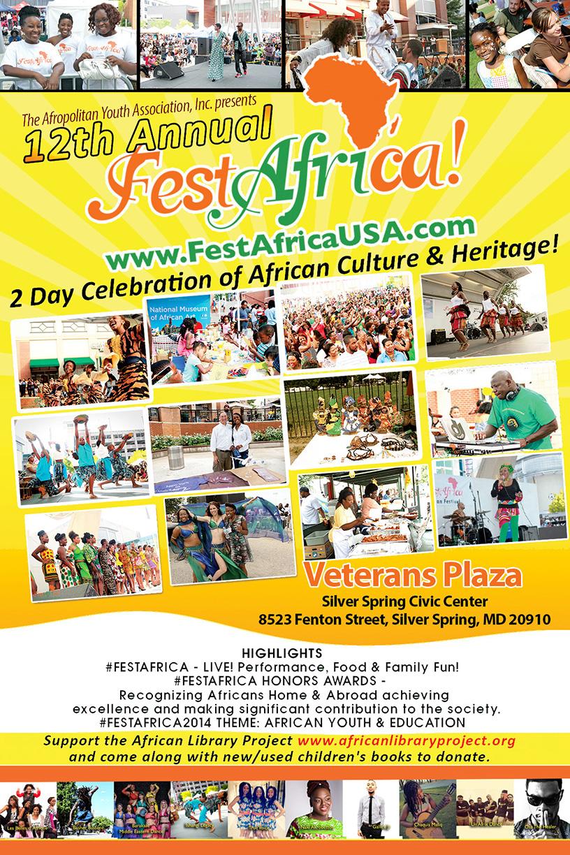 FestAfrica Flyer