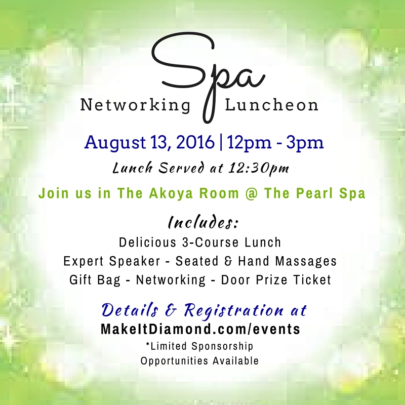 Spa Networking Event - August2016