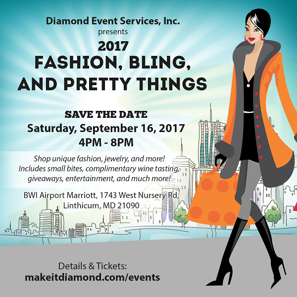 Fashon, Bling, and Pretty Things - Sept 16 2017