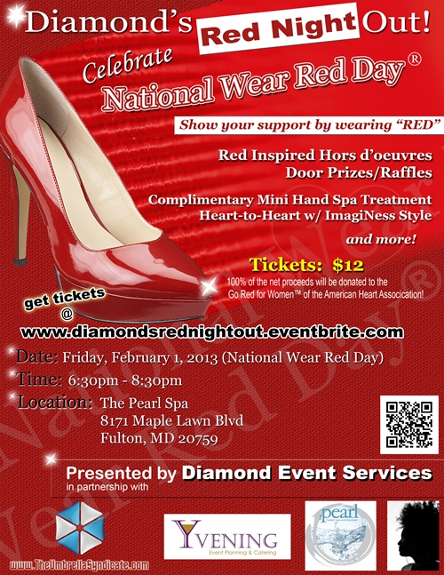 Diamond's Red Night Out