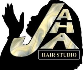 Jaha Hair Studio Logo