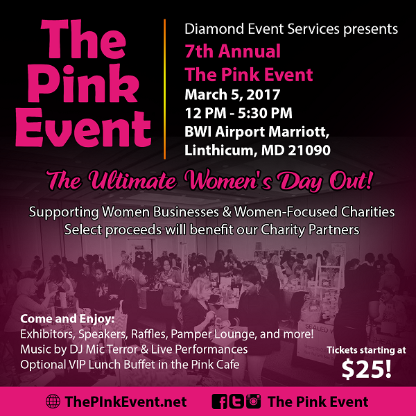 The Pink Event 2017 Flyer