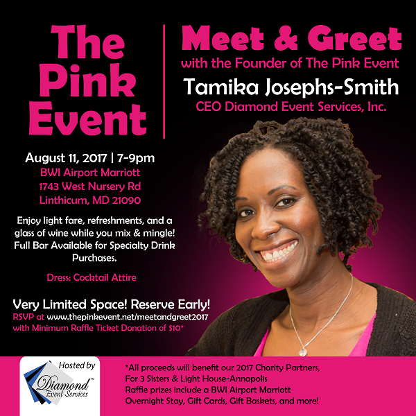 Meet and Greet with the Founder of The Pink Event